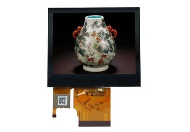 China Hoge Resolutie 3.5 Duim 320 x 240 TFT Lcd Capacitieve TouchScreen Vertoningsmodule fabriek