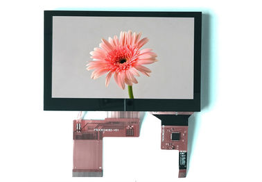 China 4,3 de Duim Lcd Touchscreen van TFT LCD van de Vertonings Hoge Helderheid Capacitieve Rgb Interface van Spi voor Industrieel Materiaal fabriek